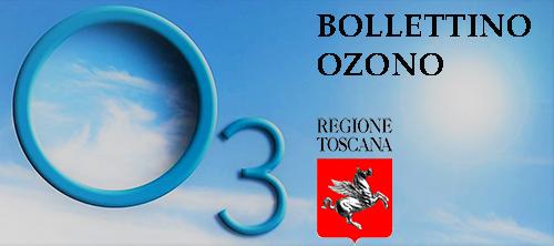 Ozono - strumento informativo di Regione Toscana sulle concentrazioni di Ozono
